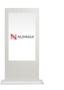 Borne multimédia extérieure à écran tactile Nummax