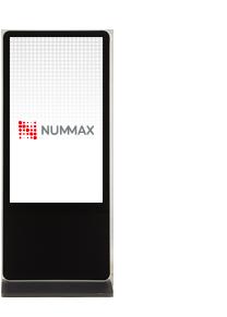 Borne tactile pour affichage dynamique intérieur Nummax