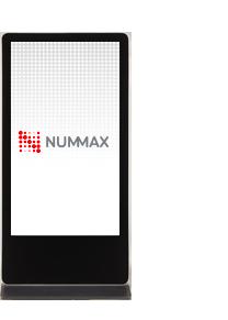 Borne interactive à affichage numérique pour intérieur Nummax