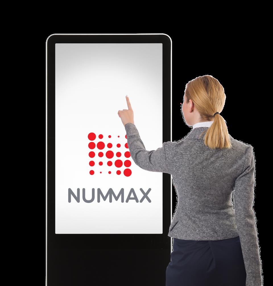 Borne tactile interactive Nummax