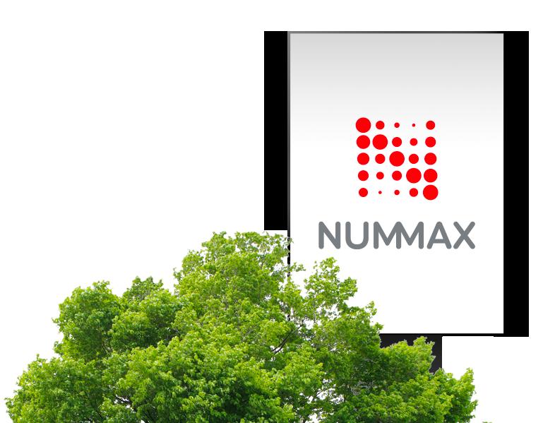 Enseigne numérique extérieure Nummax