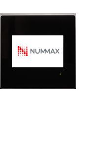 Borne interactive murale pour intérieur Nummax