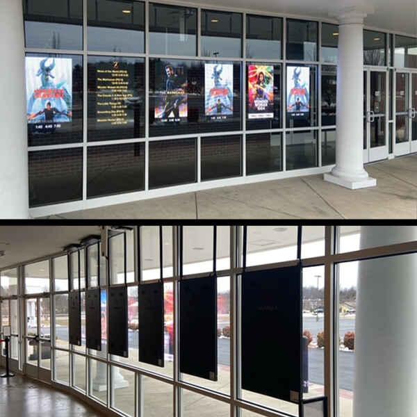 LED Pro Poster dans un cinema aux USA