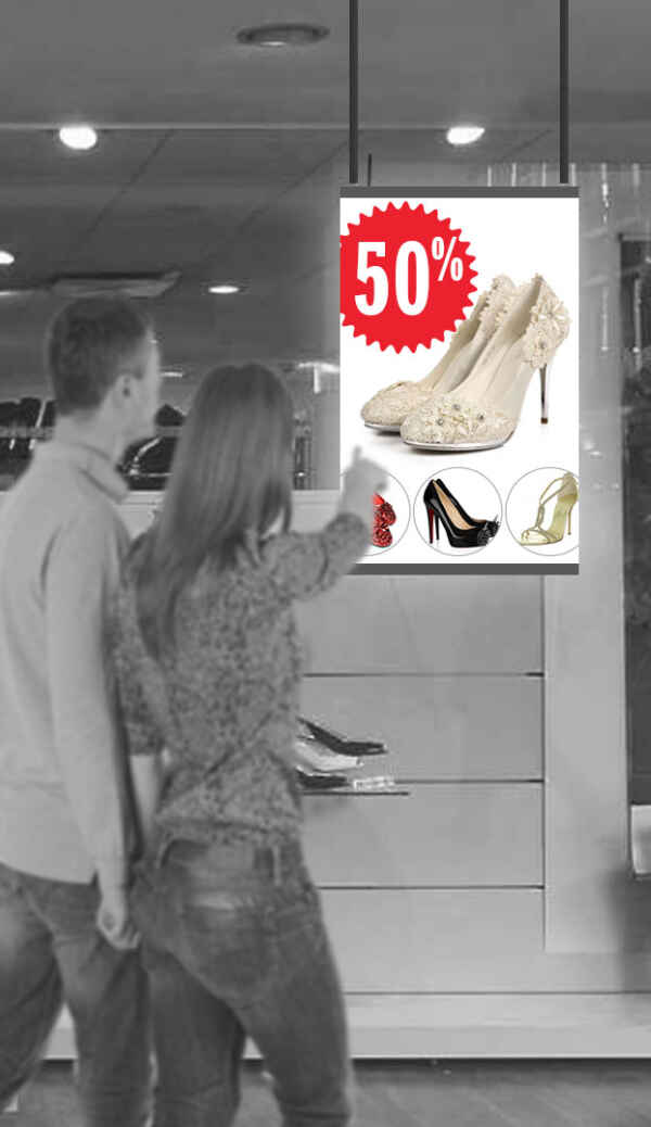 LED Pro Poster et commerces de détail