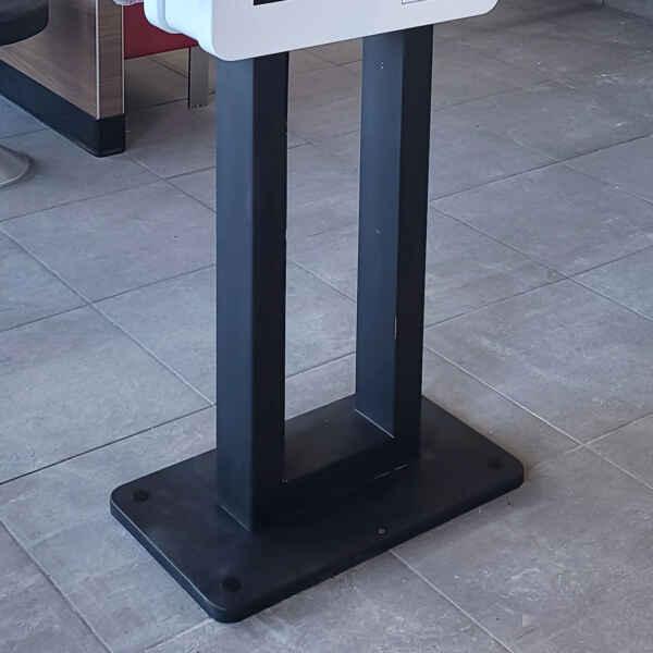 Self-Service interactive kiosk stand